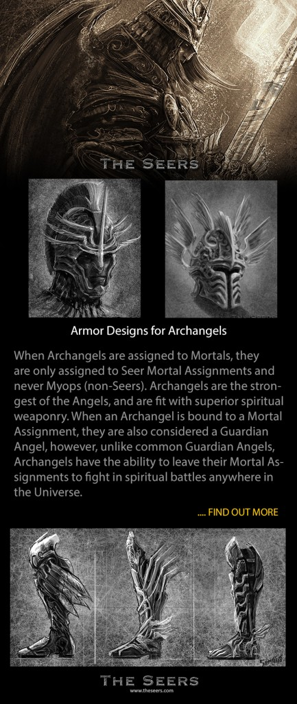 Angelic Armor Designs